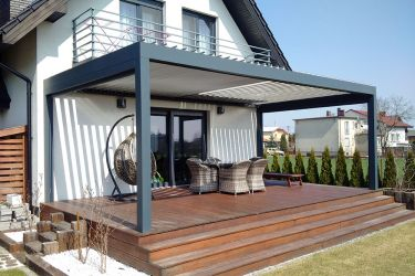 PERGOLA SHADE z roletami Screen